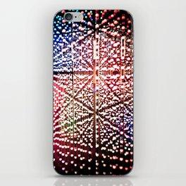 Madness lights iPhone Skin