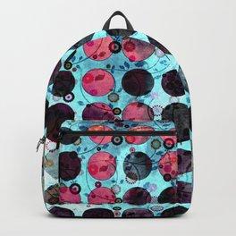 MELANGE OF BLUE and ROSE Backpack
