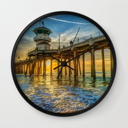 Classic Pier View Wall Clock