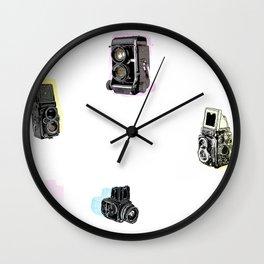 hasselblad pattern Wall Clock