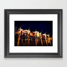 Angels Las Vegas  Framed Art Print