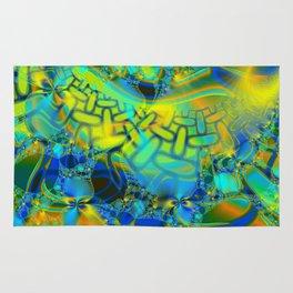 Abstract Layering Rug