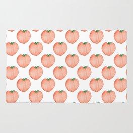 Watercolour Peach Rug