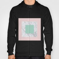 Marble with Pastels /// www.pencilmeinstationery.com Hoody