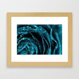 Nuclear Winter Rose Framed Art Print