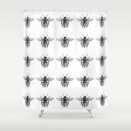 Buzzz Shower Curtain
