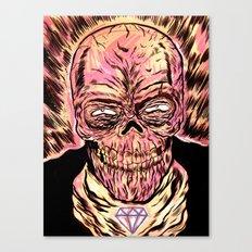 Señor Muerte Canvas Print