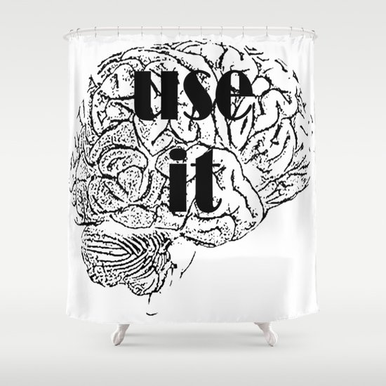 USE IT Shower Curtain