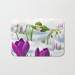 A touch of spring Bath Mat