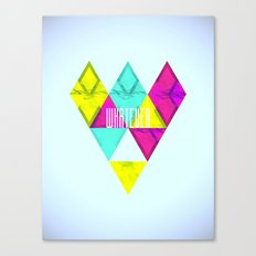 Paper Triangles ▵WHATEVER▵ Canvas Print
