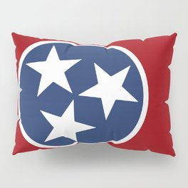 Tennessee: Tennessean Flag Pillow Sham