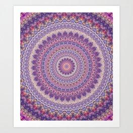 Mandala 489 Art Print