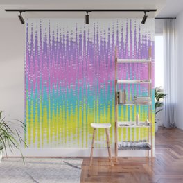 Rainbow wave Wall Mural