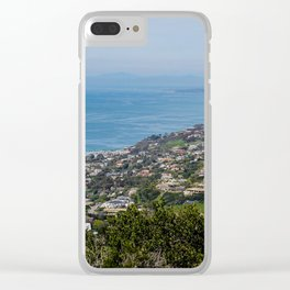San Diego Lookout pt. 2 Clear iPhone Case
