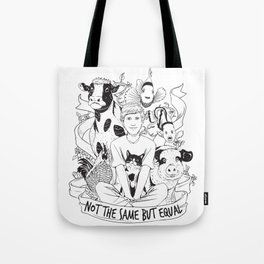Not The Same But Equal Tote Bag