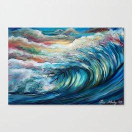 The Rainbow Wave Canvas Print