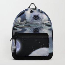 Destiny - Harp Seal Pup & Ice Floe Backpack