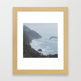 Great Coast Road VI Framed Art Print