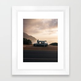 Taking it in Framed Art Print
