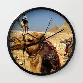 Giza Transportation Wall Clock