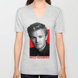 Formula One - Nico Rosberg Unisex V-Neck