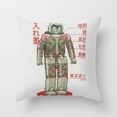 Bad Assimo Throw Pillow