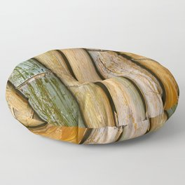 Weathered Bamboo Floor Pillow