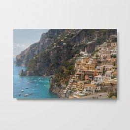 Amalfi Coast, Italy, Ocean Views Metal Print