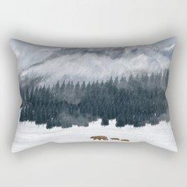 nature will find a way Rectangular Pillow
