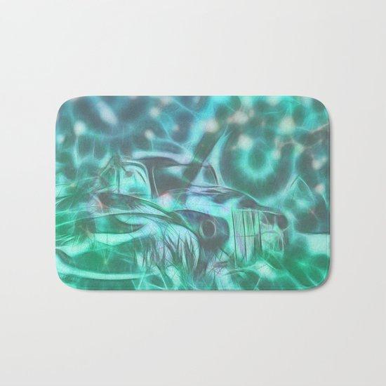 Underwater wreck Bath Mat