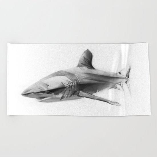 Shark I Beach Towel