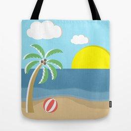 Simple Beach Tote Bag