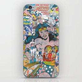 Woman of Wonder - Comic Art iPhone Skin