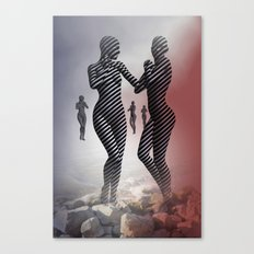 dancing somewhere - portrait format Canvas Print