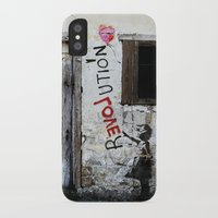revolution iPhone & iPod Cases featuring rEVOLution by Bärdie D/Sign