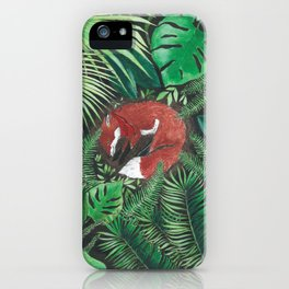Bandito Fox Jungle iPhone Case
