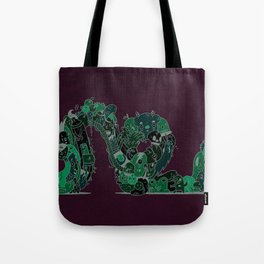 Rollercoaster of Emotions Tote Bag