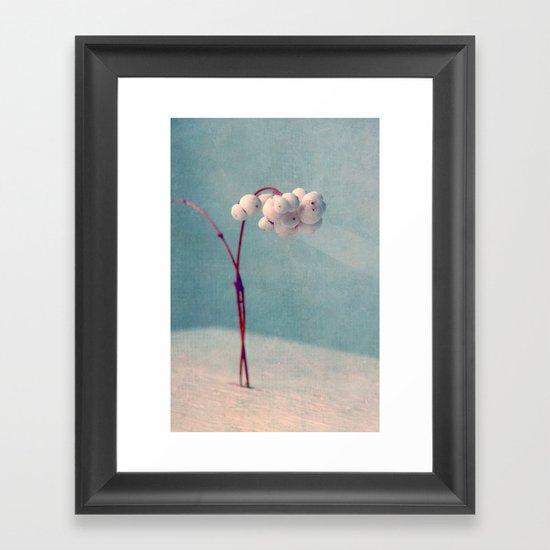 snowberries II Framed Art Print