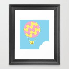 dream fly Framed Art Print
