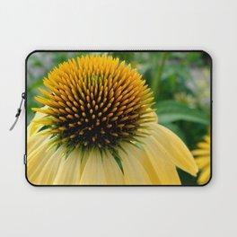 Yellow Echinacea/Coneflower Laptop Sleeve
