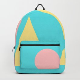 9   | 181117 Simple Geometry Shapes Backpack