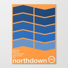 northdown single hop Canvas Print