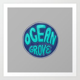 Ocean Grove, New Jersey Art Print