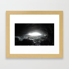 The Light Emerges Framed Art Print