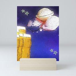 Flying Saucers bywhacky Mini Art Print
