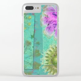 Dezincking Existence Flower  ID:16165-094422-82461 Clear iPhone Case