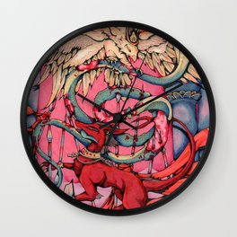Set and Horus Destroy the [enemy] Wall Clock