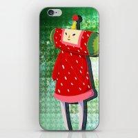 katamari iPhone & iPod Skins featuring Katamari Cousins - Ichigo by cakeisforrobots