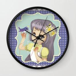 retro kitsch Wall Clock