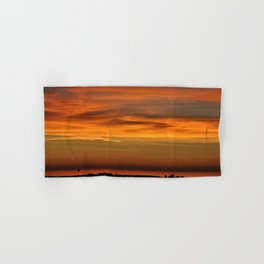 Pacific Ocean Sunset Hand & Bath Towel
